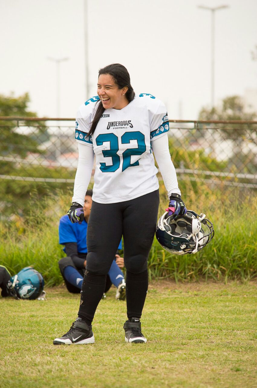 516121f8d Conheça o Underdogs e 2 guerreiras do futebol americano feminino