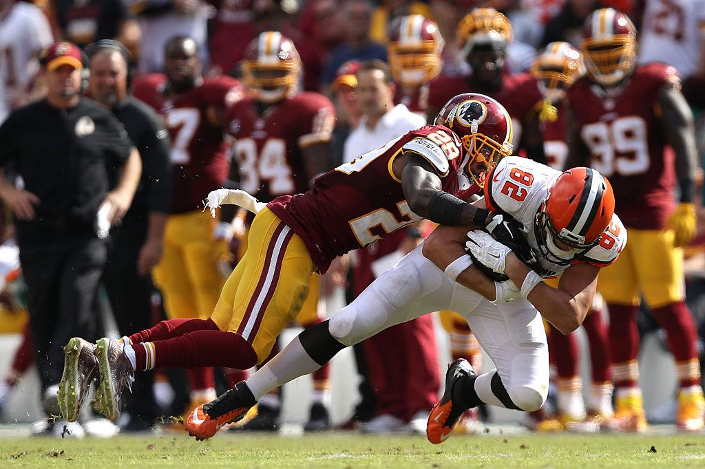 Duke Ihenacho é safety do Washington Redskins