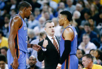 Durant revela que não fazia parte do grupo de Westbrook em Oklahoma - The Playoffs