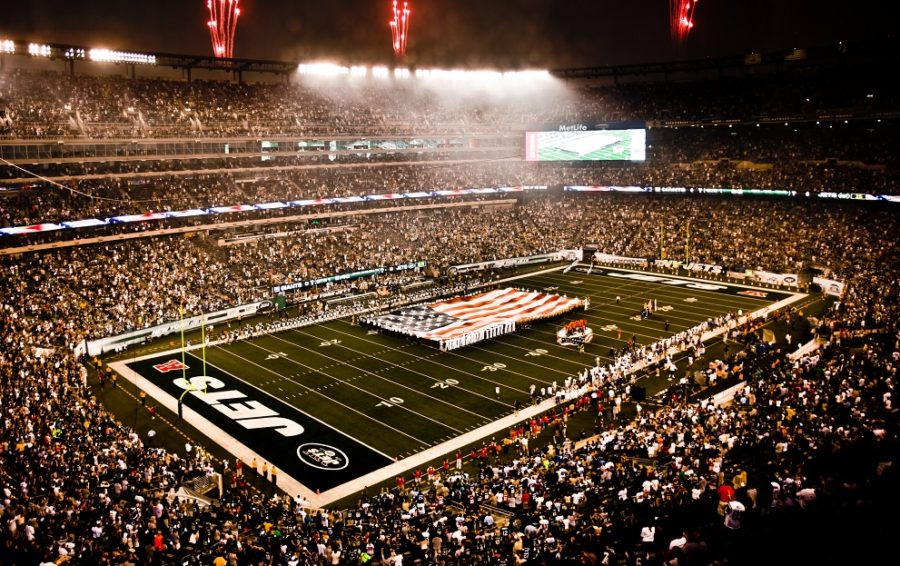 NFL - MetLife Stadium, jogo do New York Jets