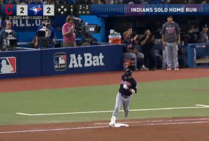 Indians vencem Blue Jays e abrem 3 a 0 na ALCS - The Playoffs
