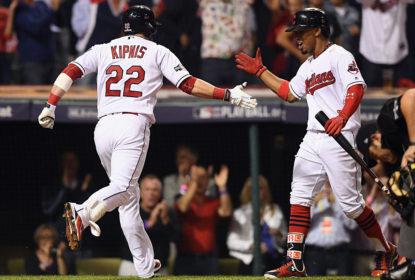 Em jogo de 6 home runs, Indians vencem Red Sox e abrem 1-0 na série - The Playoffs