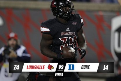 Firme na briga, Louisville vence mais uma no college football - The Playoffs