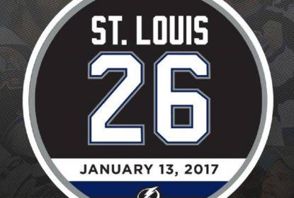 Martin St. Louis tem seu número aposentado pelo Lightning - The Playoffs