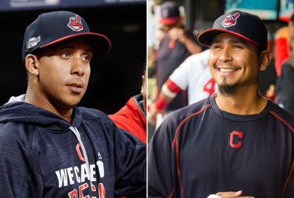 Antes esperanças dos Indians, Brantley e Carrasco se sentem frustrados por ausências na World Series - The Playoffs