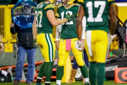 Packers controlam Giants e vencem no Sunday Night Football - The Playoffs
