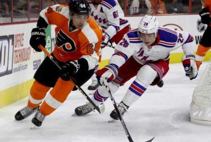Philadelphia Flyers vence New York Rangers pela pré temporada da NHL - The Playoffs