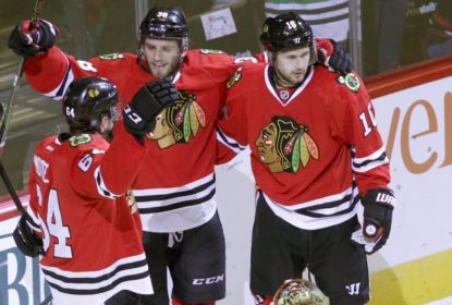 Chicago Blackhawks dá show e goleia Detroit Red Wings - The Playoffs