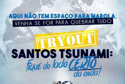 Santos Tsunami abre seletiva para time masculino - The Playoffs