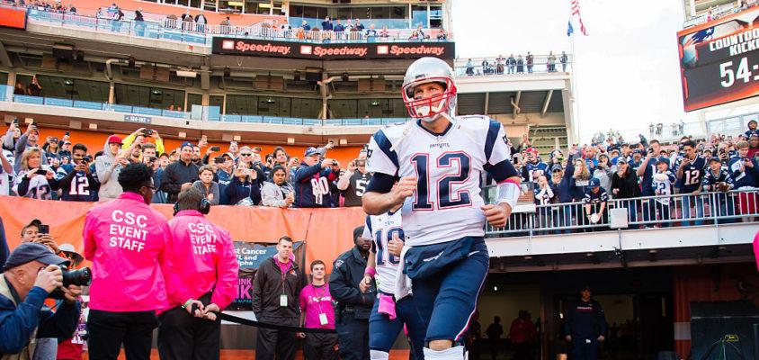 Tom Brady volta a jogar pelo New England Patriots