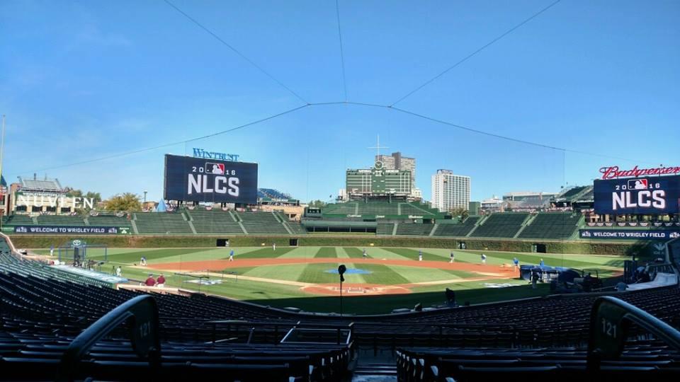 Wrigley Field é a casa do Chicago Cubs
