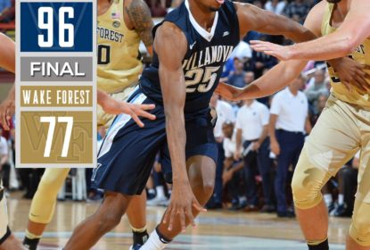 Villanova vence Wake Forest e continua com campanha invicta no College Basketball - The Playoffs