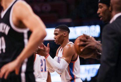 Com triplo-duplo de Westbrook, Thunder vence Nets e chega a 8ª vitória - The Playoffs