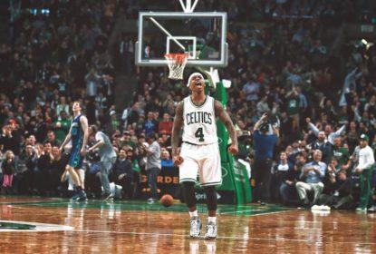 """Isaiah Thomas diz que relação com astros de Boston """"não parece real"""" - The Playoffs"""