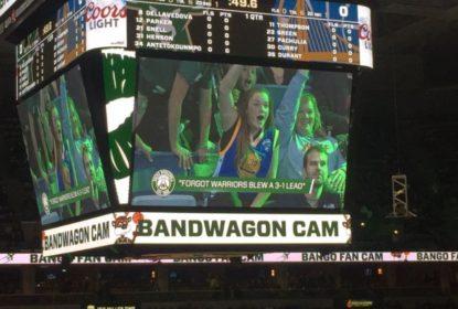 Milwaukee Bucks faz pegadinha com torcedores dos Warriors - The Playoffs