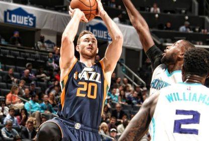 Hornets vencem Jazz de virada e somam quarto triunfo consecutivo - The Playoffs