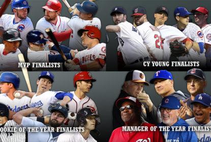 Cubs, Dodgers, Nats e Red Sox dominam indicações para melhores da temporada da MLB - The Playoffs