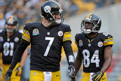 Ben Roethlisbeger e Antonio Brown comandam o Pittsburgh Steelers