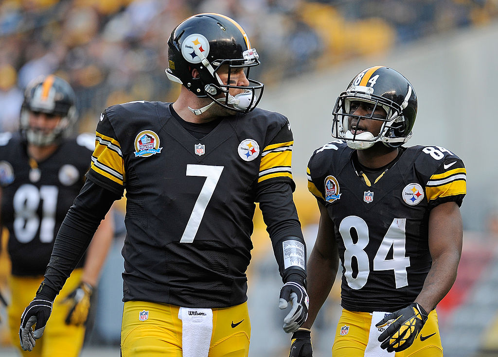 Ben Roethlisbeger e Antonio Brown comandam o Pittsburgh Steelers