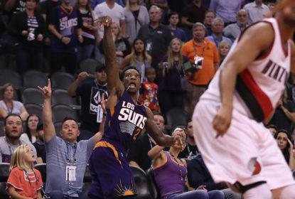 Na prorrogação, Phoenix Suns vence o Portland Trail Blazers em casa por 118 a 115 - The Playoffs