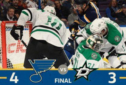 Tarasenko decide e Blues vencem Stars na prorrogação - The Playoffs