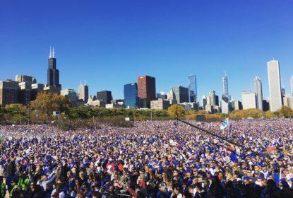 Cerca de 5 milhões de pessoas acolhem os Cubs em Chicago após primeira World Series em 108 anos - The Playoffs