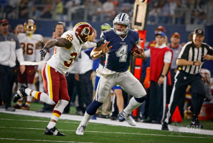 Dallas Cowboys mantém invencibilidade com vitória sobre o Washington Redskins - The Playoffs