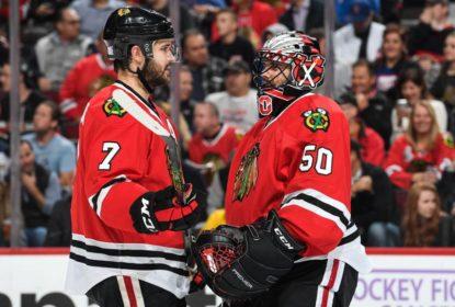Chicago Blackhawks goleia Colorado Avalanche em shutout de Crawford - The Playoffs