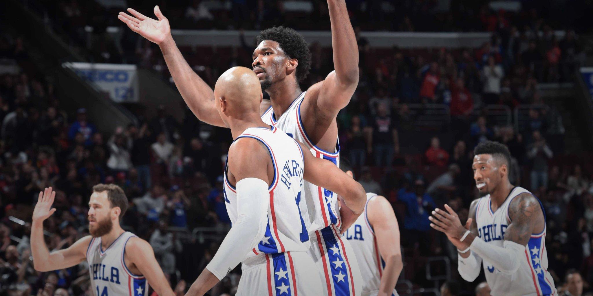 Philadelphia 76ers conquista primeira vitória da temporada