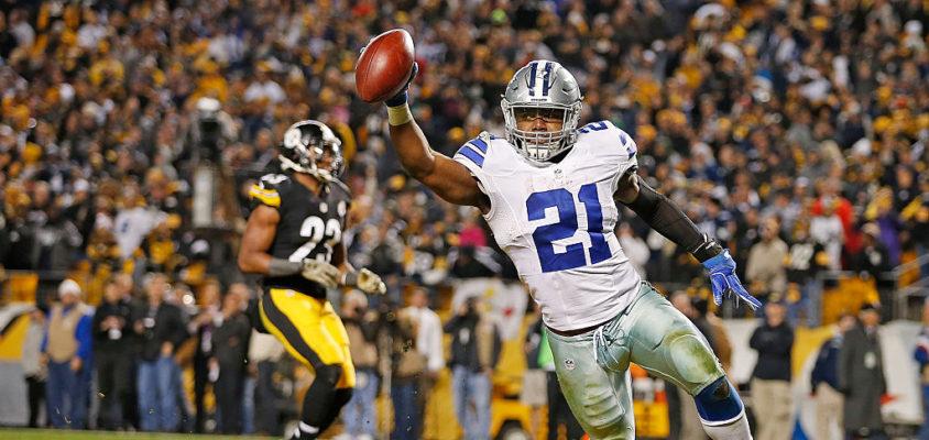 Ezekiel Elliott é destaque do Dallas Cowboys em sua primeira temporada a NFL