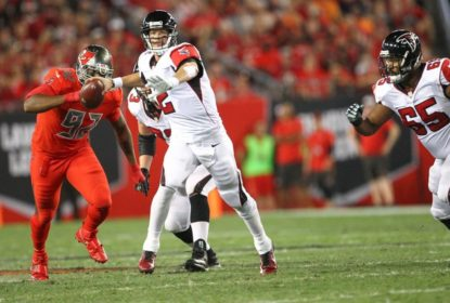 "Com Matt Ryan ""infernal"", Falcons atropelam Buccaneers, pelo TNF - The Playoffs"