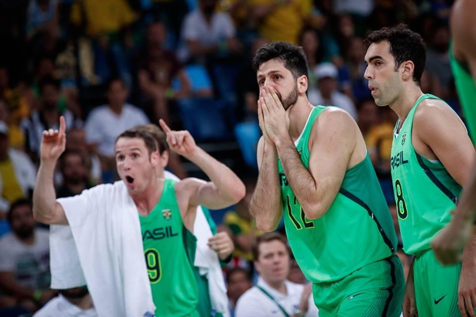 Giovannoni, Benite e Huertas e jogo do Brasil contra a Argentina, nas Olimpíadas 2016