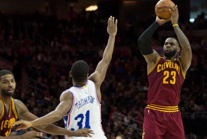 Cavaliers têm dificuldades mas vencem 76ers - The Playoffs