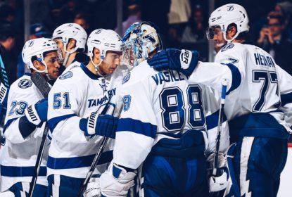 Em jogo único da rodada, Lightning goleia Islanders por 4 a 0 - The Playoffs