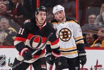 Ottawa Senators vence Boston Bruins em casa e abre vantagem sobre adversário - The Playoffs