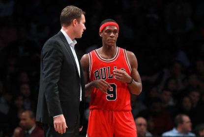 Rajon Rondo não vai voltar no jogo 5 entre Bulls e Celtics - The Playoffs
