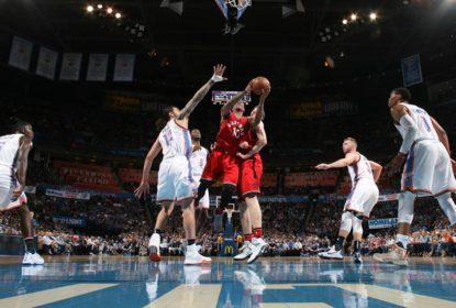 Em boa fase, Toronto Raptors vence o Oklahoma City Thunder fora de casa - The Playoffs