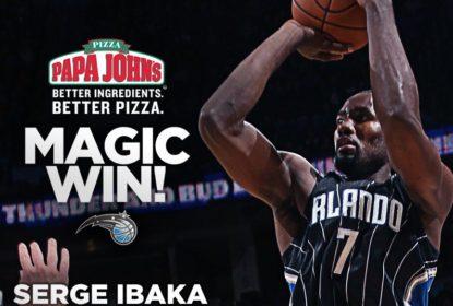 Orlando Magic derrota o Oklahoma City Thunder com game-winner de Serge Ibaka - The Playoffs