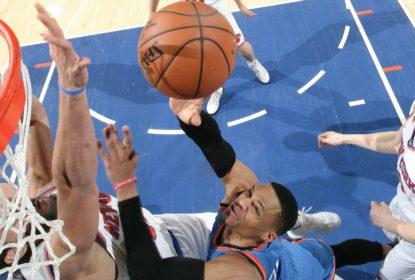 Russell Westbrook faz seu 44º triple-double na carreira e iguala marca de LeBron James - The Playoffs