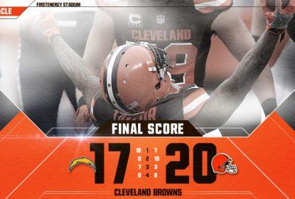 Browns batem Chargers e conhecem sua primeira vitória na temporada - The Playoffs