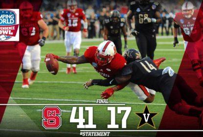 NC State atropela Vanderbilt e ganha o Independence Bowl - The Playoffs