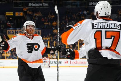 Fora de casa, Philadelphia Flyers vence Nashville Predators - The Playoffs
