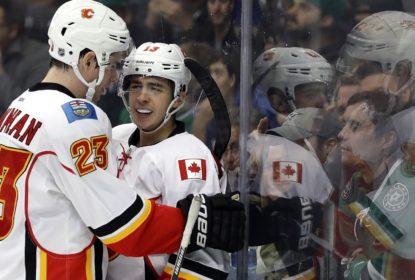Calgary Flames vence Dallas Stars fora de casa por 2-1 - The Playoffs