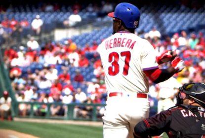 Phillies retiram banners com imagem de outfielder Odubel Herrera - The Playoffs