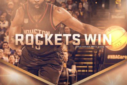 Rockets surpreendem Warriors em jogo de duas prorrogações - The Playoffs