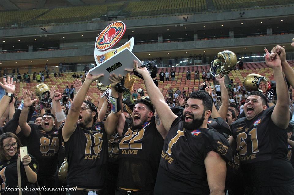 North Lions conquistam Manaus Bowl