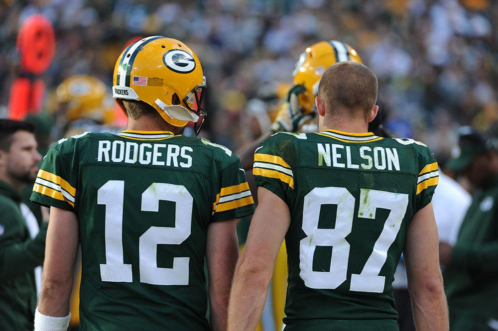 Que dupla! Aaron Rodgers e Jordy Nelson tocaram o terror contra o Vikings