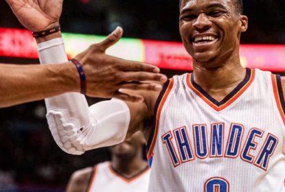 Westbrook dá novo show e Thunder vence; Cavs sofrem para ganhar dos Lakers - The Playoffs