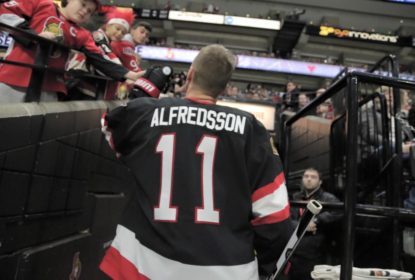 Ottawa Senators aposenta camisa número 11 de Daniel Alfredsson - The Playoffs
