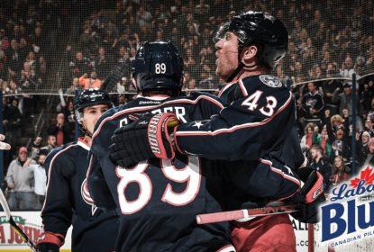 Blue Jackets tomam susto, mas vencem Bruins e chegam a 13 vitórias seguidas - The Playoffs